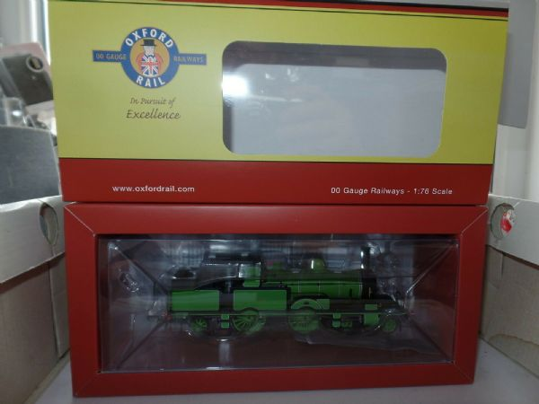Oxford Rail OR76AR003 AR003 Adams Radial Locomotive Southern Light Green 488
